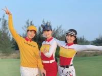 """Hoa hậu Ngọc Hân và Jennifer Phạm tham gia giải golf """"Tết vì người nghèo"""""""