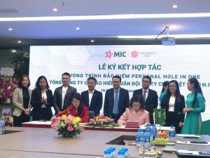 Hà Việt Golf và MIC hợp tác ra mắt Bảo hiểm Personal Hole-in-One cho người chơi golf