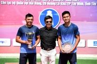 Lý Hoàng Nam và Đào Minh Trang lên ngôi Vô địch giải quần vợt VĐQG Cúp Hải Đăng năm 2021