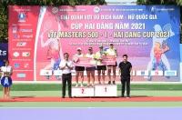Ngày thi đấu thứ sáu, giải quần vợt VĐ Nam – Nữ quốc gia Cúp Hải Đăng năm 2021