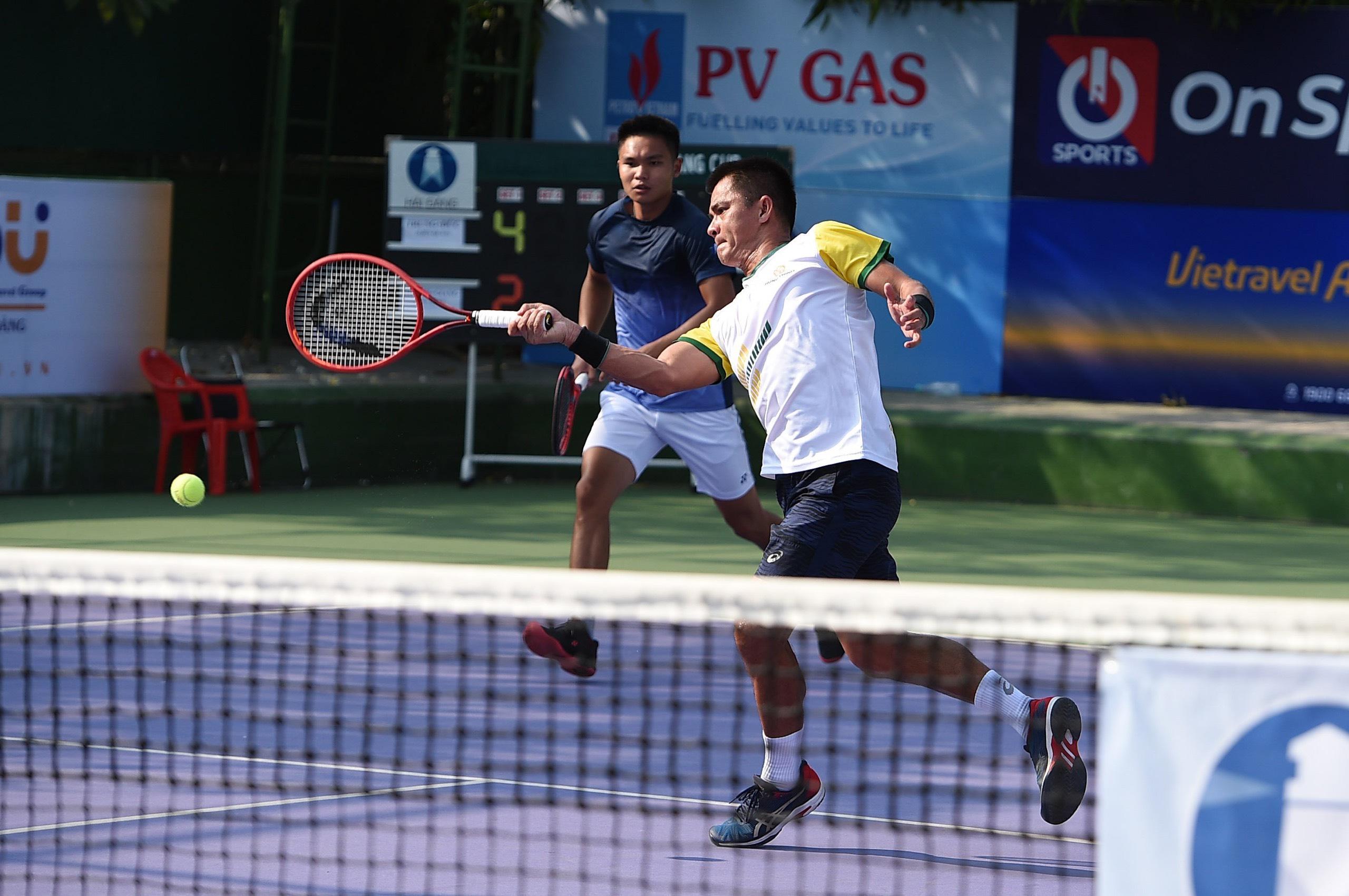 Ngày thi đấu thứ ba, giải quần vợt VĐ Nam – Nữ quốc gia Cúp Hải Đăng năm 2021