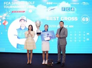 Golfer nhí Lê Chúc An lên ngôi VĐ giải FCA Spring Golf Tournament 2021