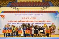 Quận Ba Đình tổ chức Lễ kỷ niệm 75 năm Ngày Thể thao Việt Nam