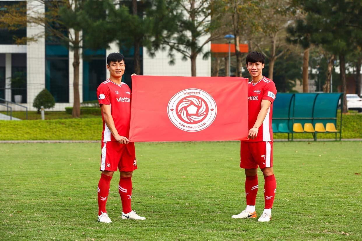 CLB bóng đá Viettel thay đổi logo