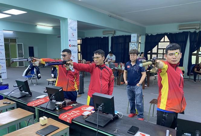ĐT Bắn súng Việt Nam sang Ấn Độ săn vé dự Olympic