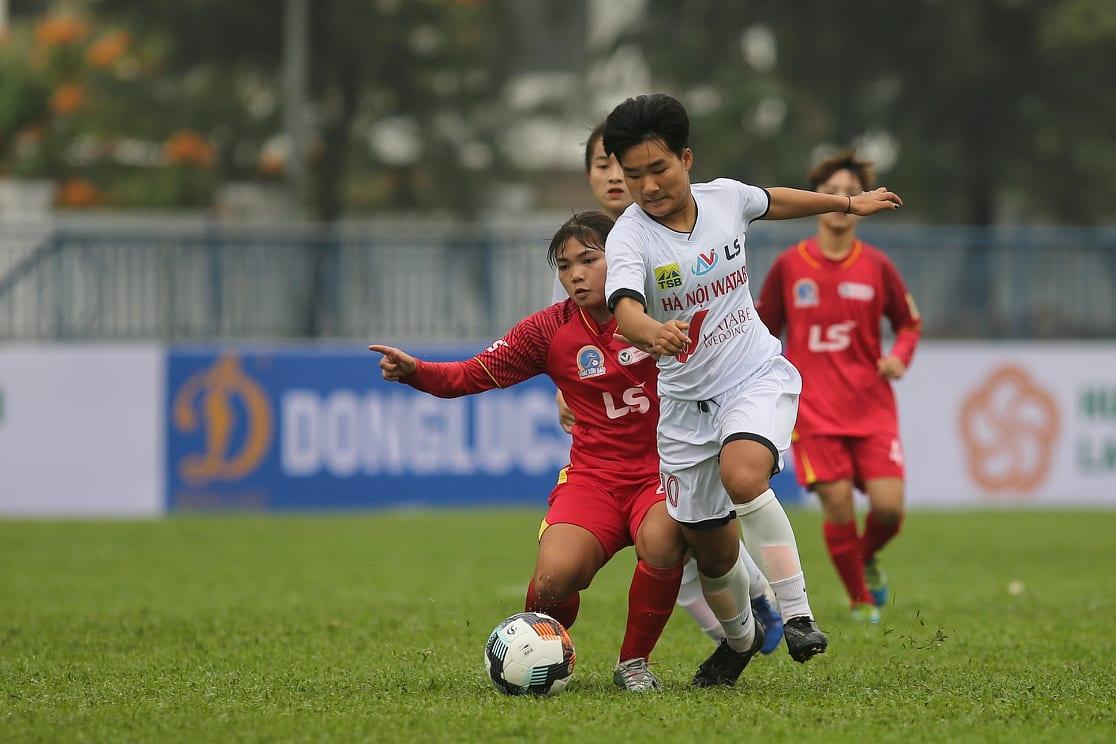 Hà Nội Watabe mất điểm phút bù giờ ở trận khai mạc giải bóng đá nữ U19 VĐQG