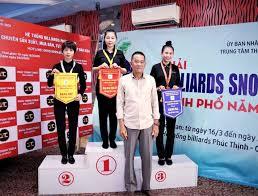 Huỳnh Thị Ngọc Huyền vô địch giải A1 Billiards & Snooker Tp HCM 2021