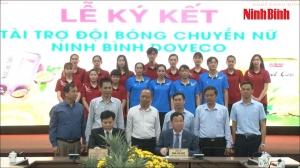 Ra mắt Đội bóng chuyển nữ Ninh Bình Doveco