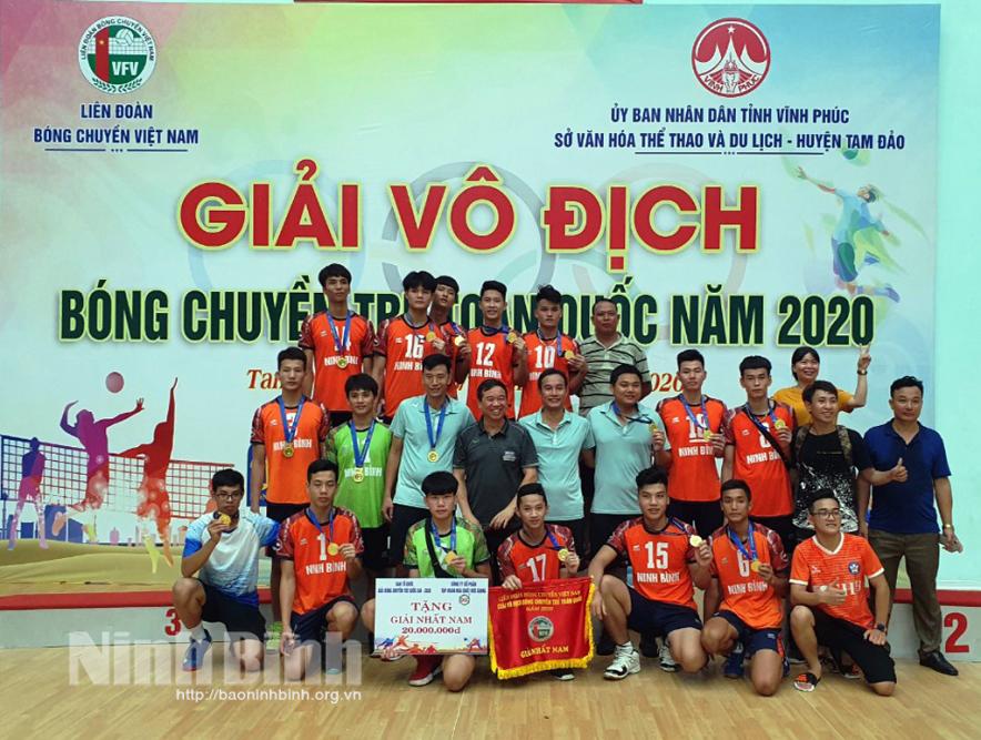 Giải bóng chuyền Cúp Hoa Lư - Bình Điền 2021 diễn ra vào ngày 23/3
