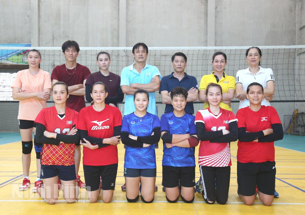 Ninh Bình chính thức có đội bóng chuyền nữ