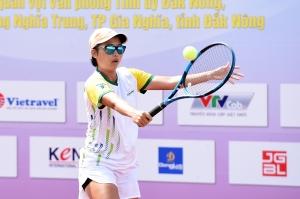 Diễn biến ngày thi đấu thứ tư giải Quần vợt vô địch Đồng đội quốc gia – Đắk Nông 2021