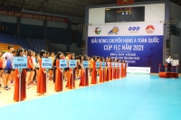 Chính thức khởi tranh giải Bóng chuyền hạng A toàn quốc cúp FLC năm 2021