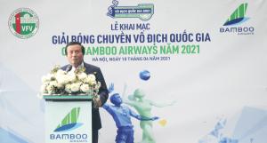 Chính thức khai mạc Giải Bóng chuyền Vô địch Quốc gia Cúp Bamboo Airways năm 2021