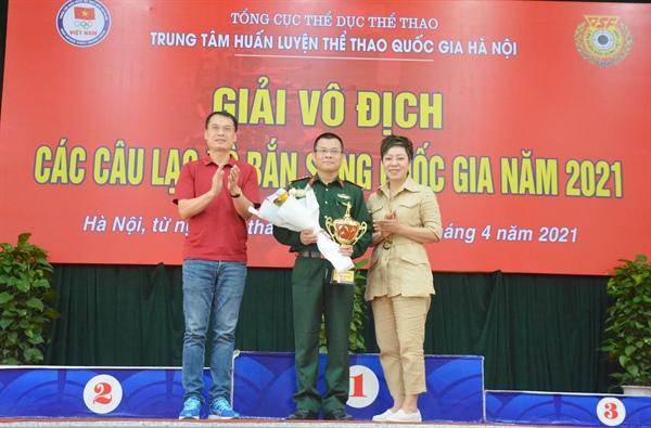 Phá 3 kỷ lục quốc gia đoàn Quân đội dẫn đầu tại giải các CLB bắn súng quốc gia