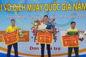 Kết thúc giải vô địch Muay quốc gia