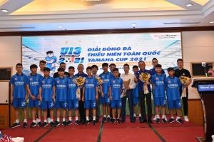 Chính thức công bố Giải Bóng đá Thiếu niên toàn quốc Yamaha Cup 2021