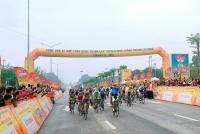 """Khai mạc cuộc đua xe đạp """"Non sông liền một dải - Niềm tin chiến thắng"""" lần 33 năm 2021"""