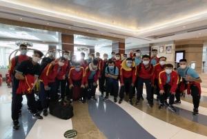 ĐT Futsal Việt Nam đã đặt chân tới Dubai (UAE)