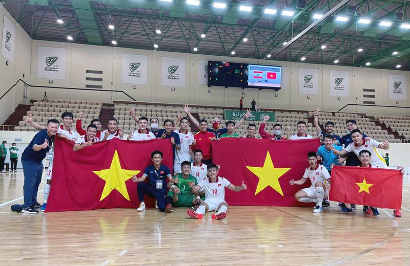 ĐT Việt Nam lần thứ hai trong lịch sử góp mặt tại VCK FIFA Futsal World Cup