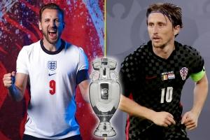 Giải VĐ bóng đá châu Âu – EURO 2020: Dự đoán trận Anh vs Croatia