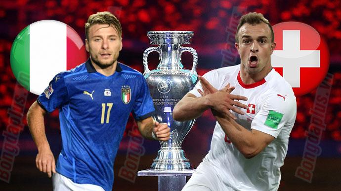 Giải VĐ bóng đá châu Âu – Euro 2020: Nhận định trận Italia vs Thuỵ Sĩ