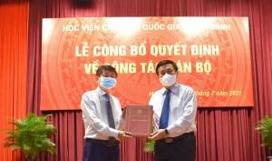 PGS,TS. Phạm Minh Sơn được bổ nhiệm làm Giám đốc Học viện Báo chí và Tuyên truyền