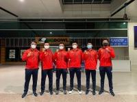 Đội tuyển Quần vợt Việt Nam lên đường sang Jordan tham dự Davis Cup 2021
